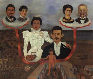 "Kahlo - ""My Grandparents, My Parents and I"""