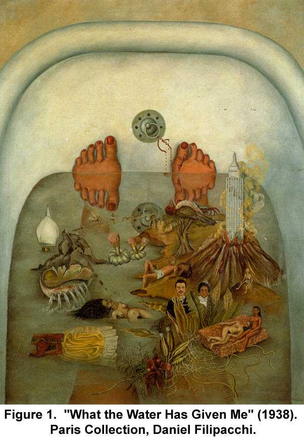 "Kahlo - ""What the Water Has Given me"""
